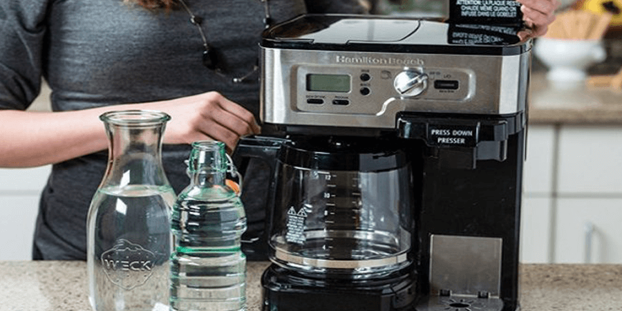 how to clean a coffee maker with baking soda