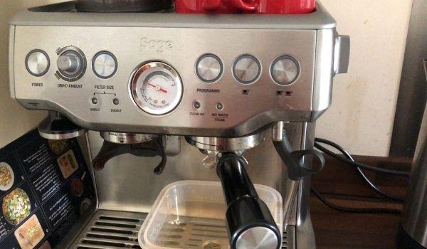 When Cleaning Breville Espresso Machine